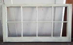 Architectural Salvage 8 Pane Old Window Sash Frame Pinterest Ivory 40x20