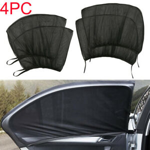 4 Pack Auto Sun Shade Window Screen Cover Sunshade Protector For Car Auto Truck