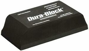 Dura Block Af4401 Black 1 3 Sanding Block Free Shipping
