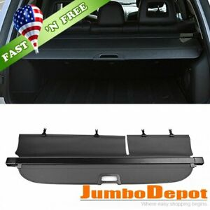 Us Black Trunk Retractable Cargo Cover Tonneau Shade Fit Jeep Compass 2013 2016