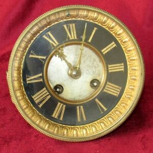 Nice French Striking 8 Day Clock Movement Dial