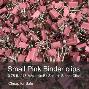 Small Binder Clips 0 75 inch 19mm Paper Clips 20 40 120 240 Pcs Each Bag