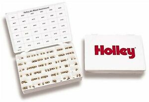 Holley 36 240 Air Bleed Assortment Kit For 4500 Dominator Hp And 4150 Hp Carb s