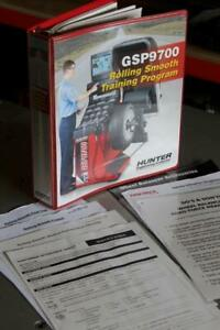 Hunter Engineering Gsp9700 Roadforce Balancer Manual Vibration Diagnosis Train