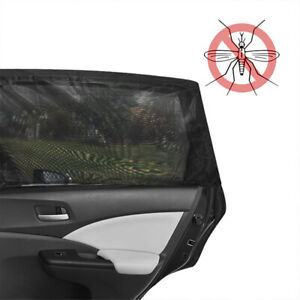 Car Auto Window Sun Shade Curtain Insect Proof Screen Mosquito Net Car Camping