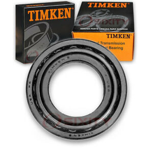 Timken Rear Left Transmission Differential Bearing For 1986 1988 Audi 5000 Bw