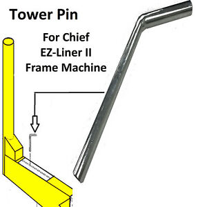 Chief Style Tower Lock Pin Frame Machine Rp 680501 Ch
