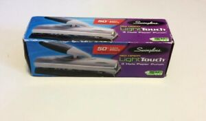 Swingline Light Touch High Capacity Desktop 3 Hole Punch In Box 74030
