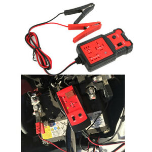 12v Cnbj 707 Vehicle Relay Tester Qualified Green Light Unqualified Red Light