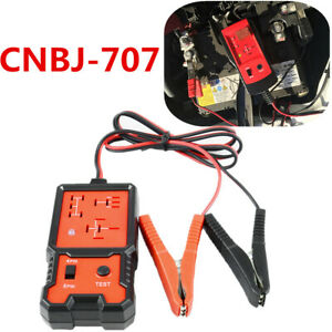 Portable Small Size 12v Cnbj 707 Fast Electronic Automotive Relay Tester Checker