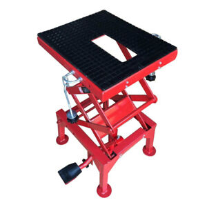 Motorcycle Motocross Hydraulic Scissor Floor Jack Adjustable Scissor Lift Stand