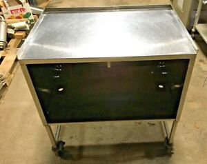 Prep Table Stainless Steel Portable Commercial Kitchen Work Table 36 X 38 5