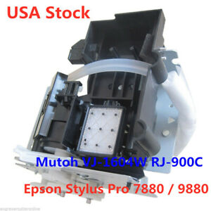 Usa Original Mutoh Vj 1604w Rj 900c Water Based Pump Capping Assembly Df 49030