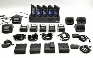 Lot 5 Ncr Orderman Sol Msr Pos Portable Handtermnal chargers bluetooth Printer