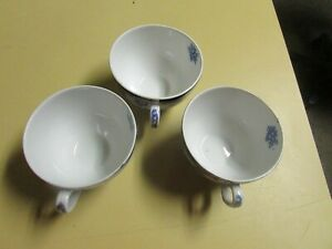 Torbrex Vintage English Tea Cups 3 Total L 1