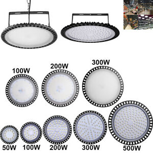 Led High Bay Lights Ufo 500w 300w 200w 100w 50w Warehouse Led Shop Light Fixture
