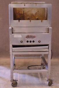 Old Hickory Barb q Barbecue Rotisserie Smoker Cooker Machine Bbq Natural Gas