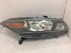 Oem 2010 2011 2012 Honda Accord Coupe Right Rh Passenger Side Headlight Damaged