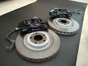 Ford Mustang Gt500 14 Front Brembo Brakes Rotors No Springs Pads Or Pins