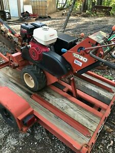 Ditch Witch Trencher With Trailer