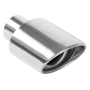 Magnaflow 35158 Stainless Exhaust Tip 2 25 I D Inlet 3 5 X 4 5 Oval 7 Long