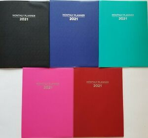 2021 Monthly Appointment Planners Calendar 10 25 X 7 5 Select Color