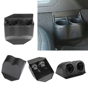 Black Travel Water Auto Dual Cup Holders For Corvette C5 C6 Gmc 1997 2013