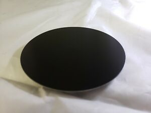 Aluminum Sheet Metal 5005 Black Anodized 0 040 20 Gauge 17 Circle