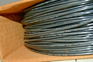 New 500 Excel Wire 14 Awg Solid Copper 600v Thhn thwn Black Oil Resistant