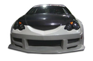 Frp Mgar Wide Body Front Bumper For Rsx Dc5 Acura 02 04 Duraflex Ed2_102250