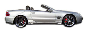 Frp Lori Side Skirts For Sl class R230 Mercedes benz 03 08 Duraflex Ed2_103