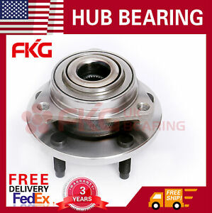 Front Wheel Hub And Bearing For 2006 2007 2008 Chevy Hhr No Abs 5 Bolt 513237x1
