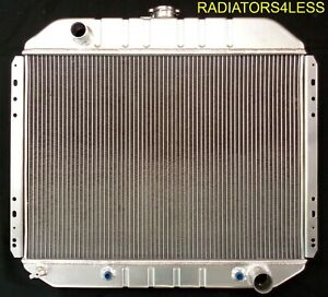 3 Row Aluminum Radiator 1966 1979 Ford Truck F 100 F 150 F 250 F 350 Chevy Eng