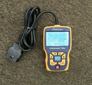 Actron Cp9580a Obdii Obd2 Enhanced Auto Scanner Plus Tested
