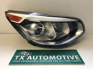 2014 2015 2016 Kia Soul Headlight Right Rh Passenger Oem W Projector K161