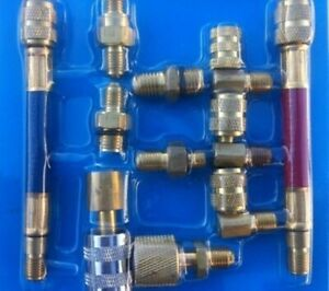 Air Conditioning Refrigeration Charging Manifold Adapter Hose Set Connector