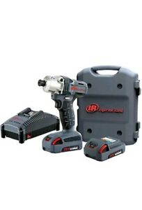 Ingersoll Rand W5110 K22 2 Batteries 1 4 Hex Cordless Impact Driver Kit