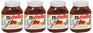 Nutella Hazelnut Spread With Cocoa 33 5 Ounce Jar 2 093 Lb 950g 4