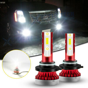 H10 Led Fog Driving Light Bulb White For Cadillac 2007 2014 Escalade Esv Ext Srx
