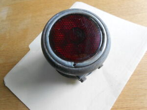 Vintage Antique Car Faro Rear Tail Light With Stimsonite Red Lens Assembly Rare