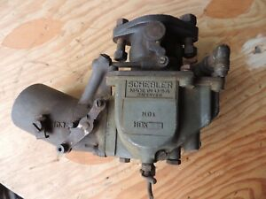 Vintage 1920 S 1930 S Schebler Hd1 Hdx26 Carburetor For Parts Or Rebuild
