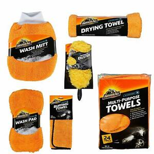 Armor All Microfiber Car Wash And Detailing Accessories Kit 6 Items