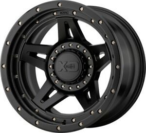 20 Inch Black Wheels Rims Chevy Gmc Truck 5 Lug Jeep Wrangler Jk Jl 20x10 Set 4