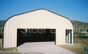 Durospan Steel 20x42x16 Metal Building Home Kit Diy Garage Shop Open Ends Direct