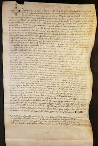 1306 Medieval Parchment From The Reign Of King Philip Iii And Pope Clement V