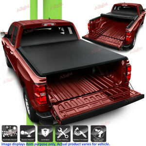 Tonneau Cover Fits 2009 18 Dodge Ram 1500 2010 18 2500 3500 8ft Bed Soft Roll Up