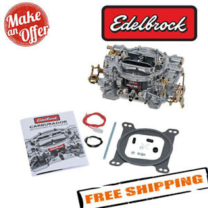 Edelbrock 1905 Avs2 650 Cfm 1905 Carburetor With Manual Choke Satin Finish