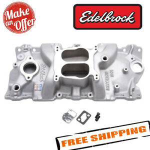 Edelbrock 2101 Performer Intake Manifold For 1955 86 Small block Chevy