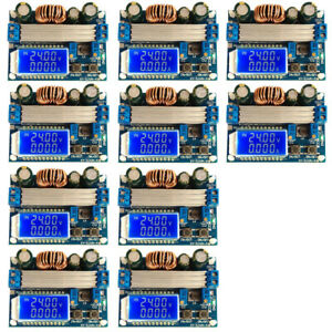 10x Step Up Down Power Module Voltage Regulator Lcd Display Adjustable Lot