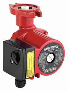 Armstrong Pumps Inc 1 8 Hp Cast Iron Wet Rotor Maintenance Free Hot Water